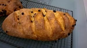 citrus and currant bread